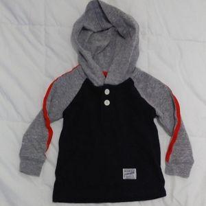 Osh Kosh B'gosh Hooded Shirt